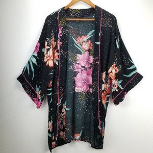 FV21 Kimono Tunic Floral Spring